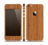 The Real Bamboo Wood Skin Set for the Apple iPhone 5s