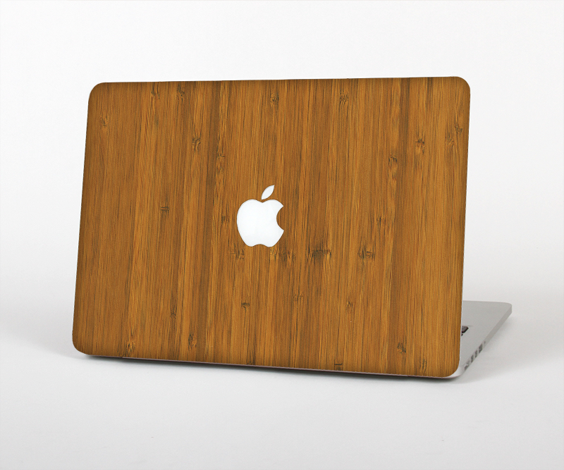 "The Real Bamboo Wood Skin Set for the Apple MacBook Pro 15"" with Retina Display"