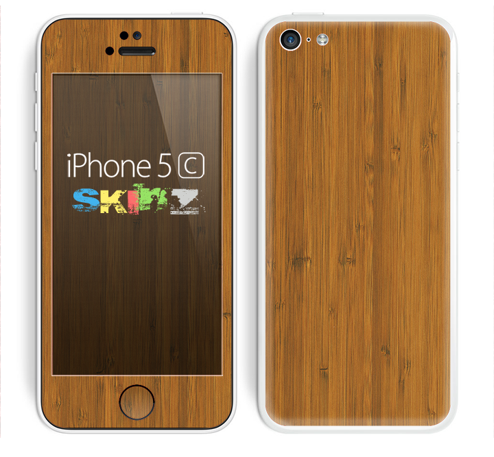 The Real Bamboo Wood Skin for the Apple iPhone 5c