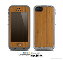 The Real Bamboo Wood Skin for the Apple iPhone 5c LifeProof Case
