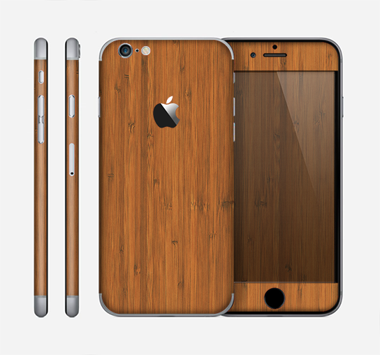 The Real Bamboo Wood Skin for the Apple iPhone 6