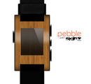 The Real Bamboo Wood Skin for the Pebble SmartWatch