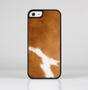 The Real Brown Cow Coat Texture Skin-Sert for the Apple iPhone 5c Skin-Sert Case
