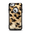The Real Cheetah Animal Print Apple iPhone 6 Otterbox Commuter Case Skin Set