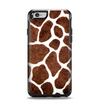 The Real Giraffe Animal Print Apple iPhone 6 Otterbox Symmetry Case Skin Set
