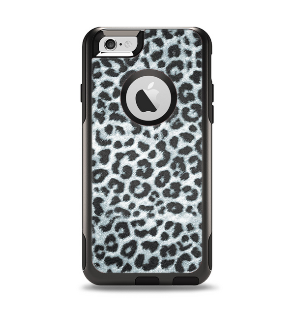 The Real Leopard Animal Print Apple iPhone 6 Otterbox Commuter Case Skin Set