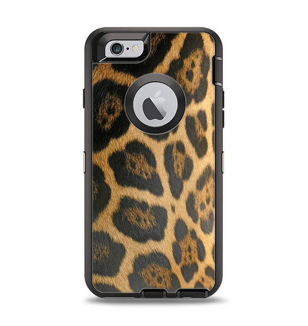 The Real Thin Vector Leopard Print Apple iPhone 6 Otterbox Defender Case Skin Set
