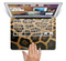 "The Real Thin Vector Leopard Print Skin Set for the Apple MacBook Pro 15"" with Retina Display"