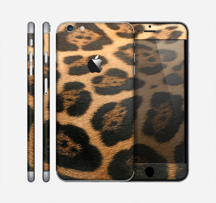 The Real Thin Vector Leopard Print Skin for the Apple iPhone 6 Plus