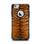 The Real Tiger Print Texture Apple iPhone 6 Otterbox Commuter Case Skin Set
