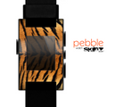 The Real Tiger Print Texture Skin for the Pebble SmartWatch