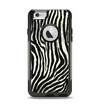 The Real Vector Zebra Print Apple iPhone 6 Otterbox Commuter Case Skin Set