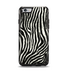 The Real Vector Zebra Print Apple iPhone 6 Otterbox Symmetry Case Skin Set