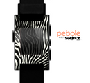 The Real Vector Zebra Print Skin for the Pebble SmartWatch