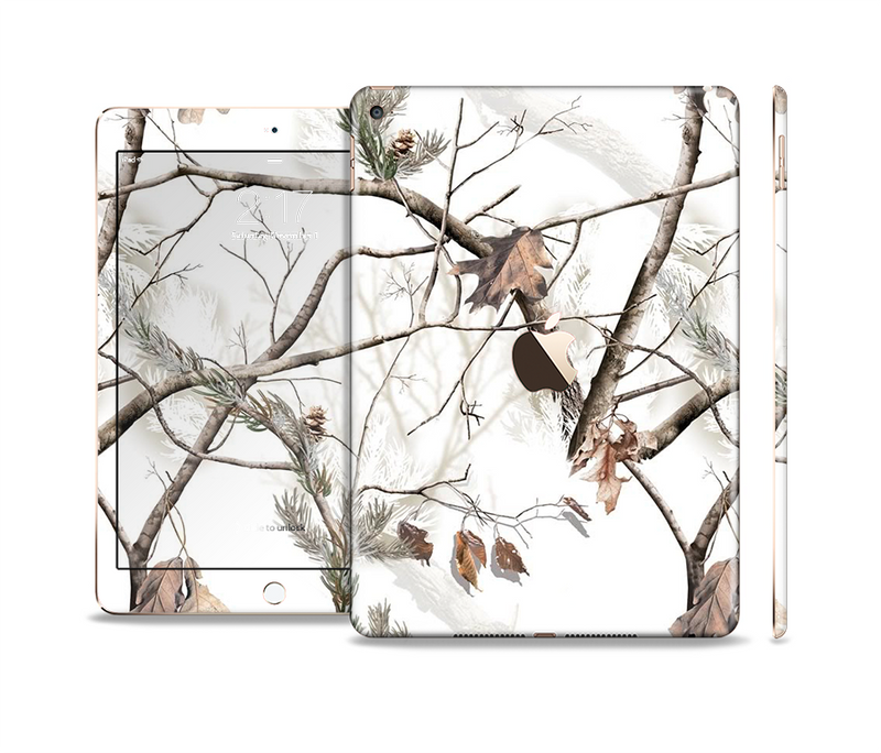 The Real Winter Camouflage Skin Set for the Apple iPad Pro