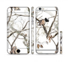 The Real Winter Camouflage Sectioned Skin Series for the Apple iPhone 6