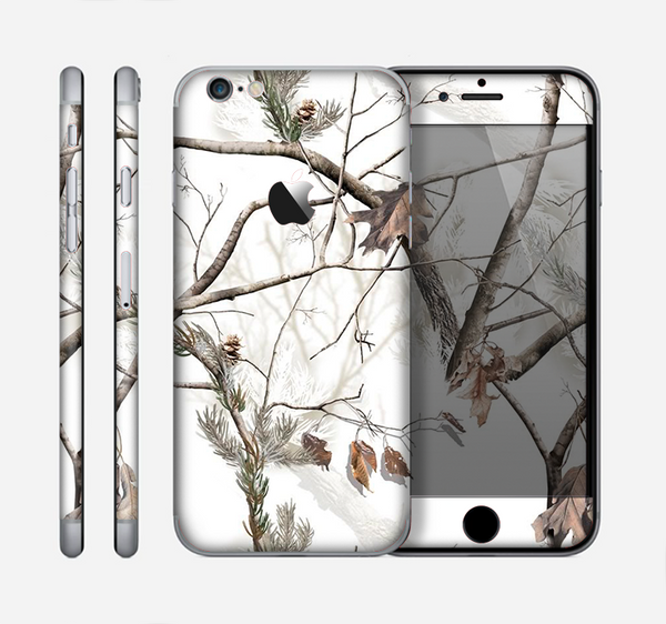 The Real Winter Camouflage Skin for the Apple iPhone 6
