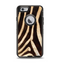 The Real Zebra Print Texture Apple iPhone 6 Otterbox Defender Case Skin Set