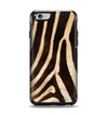 The Real Zebra Print Texture Apple iPhone 6 Otterbox Symmetry Case Skin Set