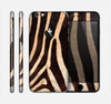 The Real Zebra Print Texture Skin for the Apple iPhone 6