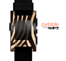 The Real Zebra Print Texture Skin for the Pebble SmartWatch
