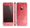 The Red-Wood with Yellow Knot Skin Set for the Apple iPhone 5