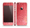 The Red-Wood with Yellow Knot Skin Set for the Apple iPhone 5s