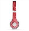 The Red-Wood with Yellow Knot Skin for the Beats by Dre Solo 2 Headphones