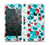 The Red & Blue Abstract Shapes Skin Set for the Apple iPhone 5