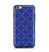The Red & Blue Seamless Anchor Pattern Apple iPhone 6 Plus Otterbox Symmetry Case Skin Set