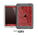 The Red Fabric Skin for the Apple iPad Mini LifeProof Case