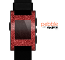 The Red Fabric Skin for the Pebble SmartWatch