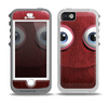 The Red Fuzzy Wuzzy Skin for the iPhone 5-5s OtterBox Preserver WaterProof Case