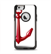 The Red Glossy Anchor Apple iPhone 6 Otterbox Commuter Case Skin Set