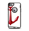The Red Glossy Anchor Apple iPhone 6 Otterbox Defender Case Skin Set