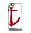 The Red Glossy Anchor Apple iPhone 6 Plus Otterbox Symmetry Case Skin Set
