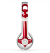 The Red Glossy Anchor Skin for the Beats by Dre Solo 2 Headphones