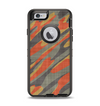 The Red, Green and Black Abstract Traditional Camouflage Apple iPhone 6 Otterbox Defender Case Skin Set