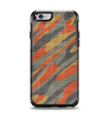 The Red, Green and Black Abstract Traditional Camouflage Apple iPhone 6 Otterbox Symmetry Case Skin Set