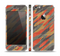 The Red, Green and Black Abstract Traditional Camouflage Skin Set for the Apple iPhone 5