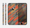 The Red, Green and Black Abstract Traditional Camouflage Skin for the Apple iPhone 6