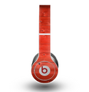 The Red Highlighted Wooden Planks Skin for the Beats by Dre Original Solo-Solo HD Headphones