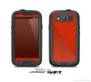 The Red Jersey Texture Skin For The Samsung Galaxy S3 LifeProof Case