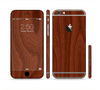 The Red Mahogany Wood Sectioned Skin Series for the Apple iPhone 6 Plus