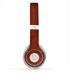The Red Mahogany Wood Skin for the Beats by Dre Solo 2 Headphones