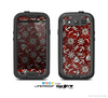 The Red Nautica Collage Skin For The Samsung Galaxy S3 LifeProof Case
