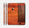 The Red Tinted WoodGrain Skin for the Apple iPhone 6 Plus