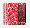 The Red Vector Floral Sprout Skin for the Apple iPhone 6 Plus