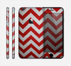 The Red Vintage Chevron Pattern Skin for the Apple iPhone 6