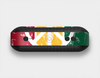The Red, Yellow & Green Layered Peace Skin Set for the Beats Pill Plus